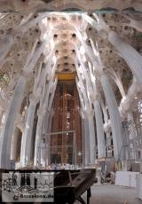Blick in die Richtung, in der sich heute der Altar befindet. Aufnahme von 2008