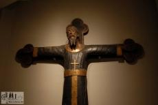 Kruzifix im Museu Frederic Marès in Barcelona