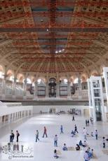 Die große Halle des MNAC