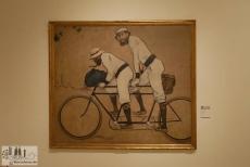 Das berühmteste Bild des Modernisme: Tandem von Ramón Casas