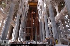 Gerüst und die Säulenkapitelle
