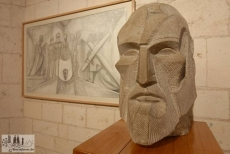 Modell einer Skulptur von Josep Maria Subirachs