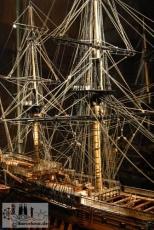 Mittelalterliches Schiffsmodell