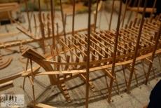 Modell des Schiffsbaus