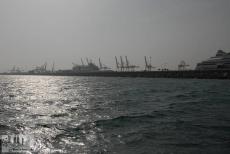 The cargo terminal