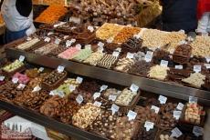 Sweets in the Mercat de la Boqueria