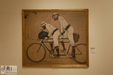 The most famous image of Modernism: Tandem by Ramón Casas