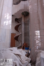 So it looked 2008: Working on the stairs in the facade of glory