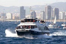 Boat tours and water activities in Barcelona