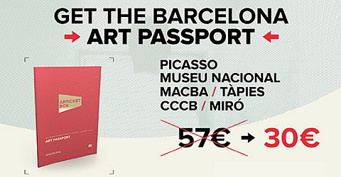 Articket BCN, one pass for six museums