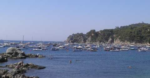 Costa Brava day trip - Beach at Calella
