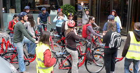 English guided bike tours