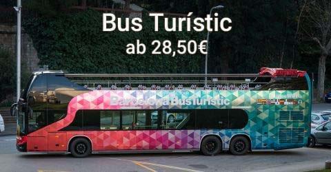 Mit dem Bus Turístic zu den Top Sehenswürdigkeiten