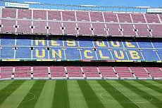 Camp Nou, stadium of FC Barcelona