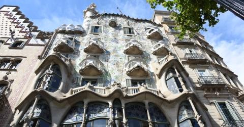 Casa Batlló mit seinem berühmten Drachenrücken