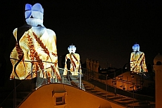 Book your tickets for Casa Milà by Night here