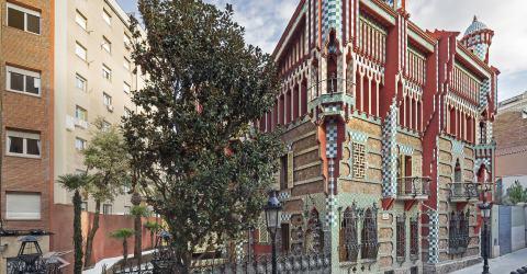 Casa Vicens - unknown work from Antoní Gaudí