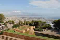 The Montjuïc and ist sights