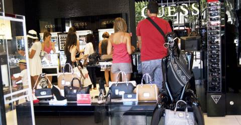 Passeig de Gr�cia: Barcelonas Einkaufsmeile