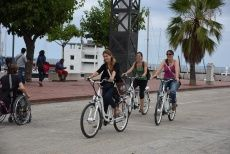 Exciting Barcelona Tour - by bike, boat and on foot