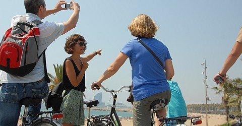 Deutschsprachige Fahrradtouren in Barcelona