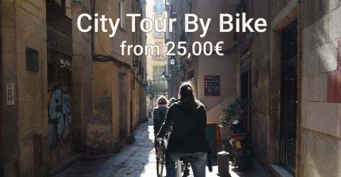 Explore Barcelona by bike with our Bike Tour