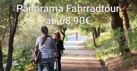 Panorama Fahrradtour: Mit E-Bikes durch die Stadt, am Strand und auf den Montjuïc