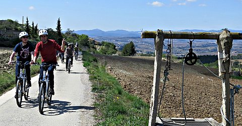 E-Bike Tour Subirats - Region Penedes