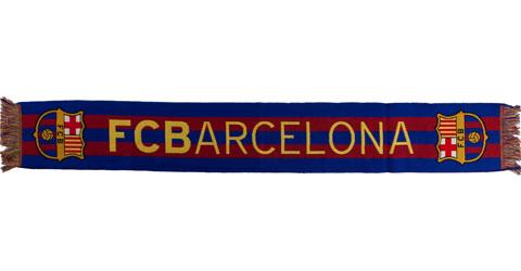 Der FC Barcelona Fanschal, 140x20 cm