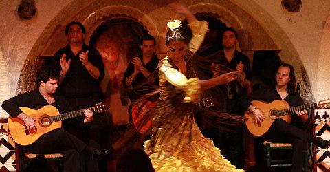 Einer der ausdruckst�rksten Shows in ganz Spanien im Cordobes