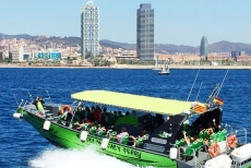 Drive a speeboat along Barcelonas coast