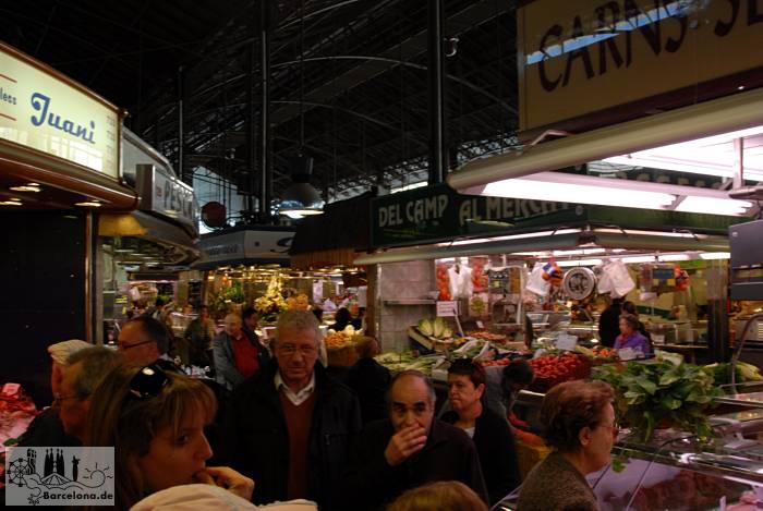 Im Markt Mercat de la Boqueria
