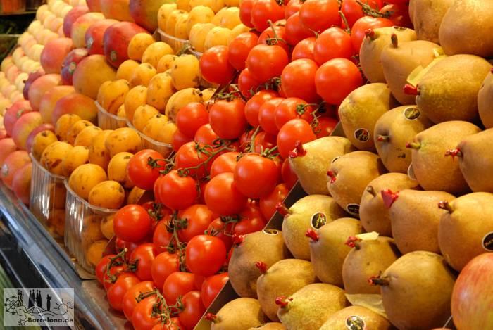 Noch mehr Obst und Gemüse
