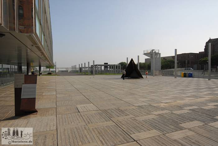 Terrace from the cafeteria