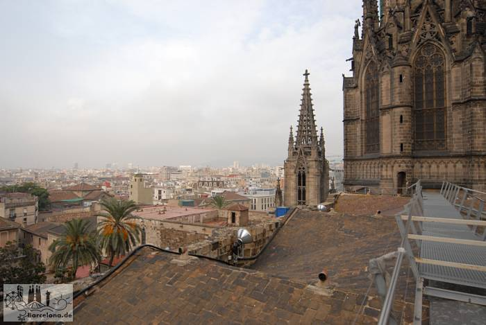 View over the roofs of the old town