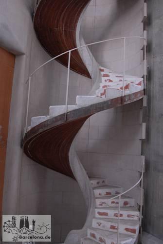 Bau einer Treppe