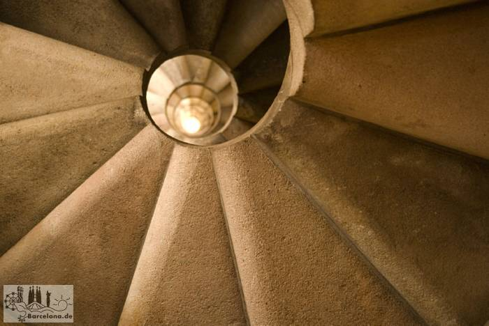 Ready stairs in a spire