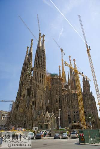 Construction site Sagrada Familia