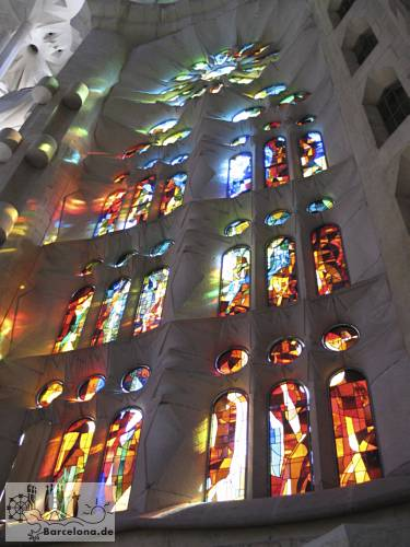 Fenster der Sagrada Familia