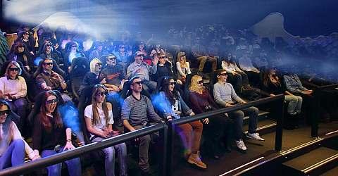 Gaudí Experience 4D- Der Kinosaal