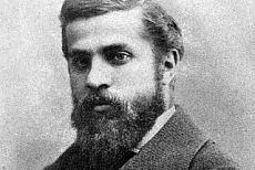 The architect Antoni Gaudí