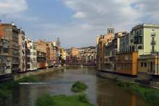 Girona - a tranquil and very beautiful city