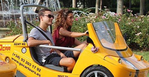 Buchen Sie eine Tour mit den GoCars - die andere Stadtrundfahrt