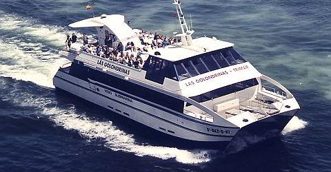 Golondrinas Trimar for coastal itinerary before Barcelona