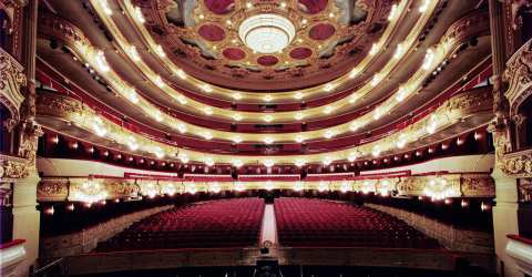 Gran Teatre del Liceu, one of the largest opera houses in Europe