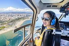 Helicopter sightseeing flights from Barcelona