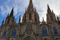 Kathedrale in Barcelona