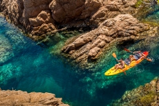 Kayak and Snorkelling at Costa Brava