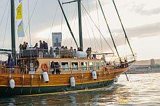 Küstenfahrt mit der Goleta Karya Boot