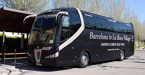 La Roca Village Shopping Express ab Barcelona